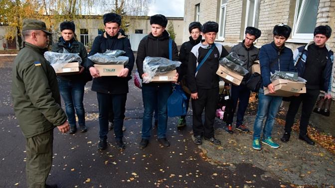 На Украине сократили возраст для призывников