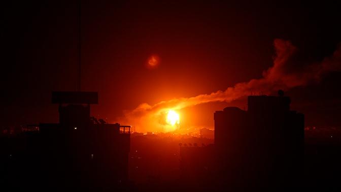 Израильская армия атаковала объект ХАМАС в секторе Газа
