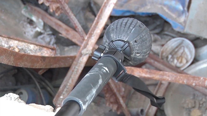 Всевидящее око: военные инженеры показали работу метательной камеры «Сфера» в Сирии