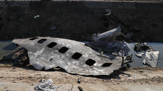 IRNA: Иран не будет отправлять черные ящики сбитого самолета на Украину