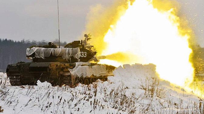 Танковая карусель: «реактивные» Т-80 задействовали на учениях в Подмосковье