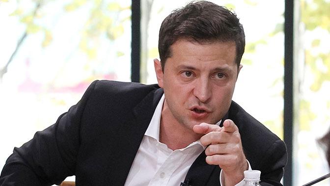 Зеленский выступил против вовлечения Украины во внутренние дела США