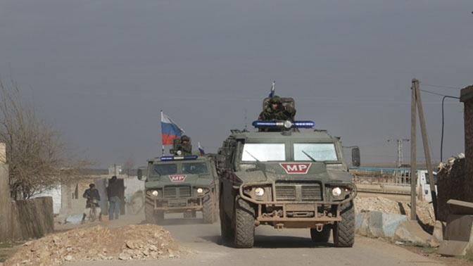 Военная полиция РФ провела патрулирование в сирийских провинциях Алеппо и Ракка