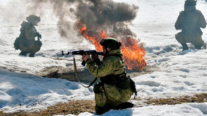Разведчики танковой армии ЗВО отразили атаку «боевиков»
