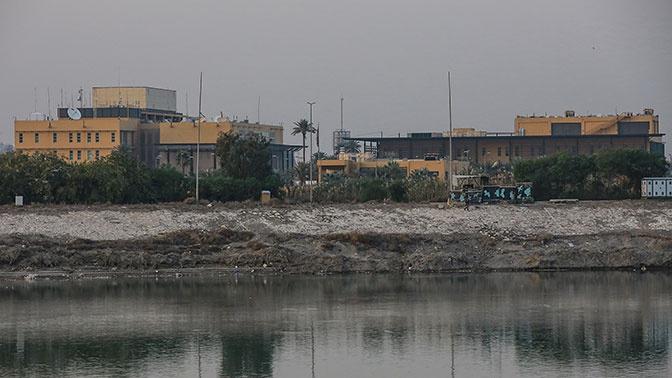 Район посольства США обстреляли ракетами в Багдаде