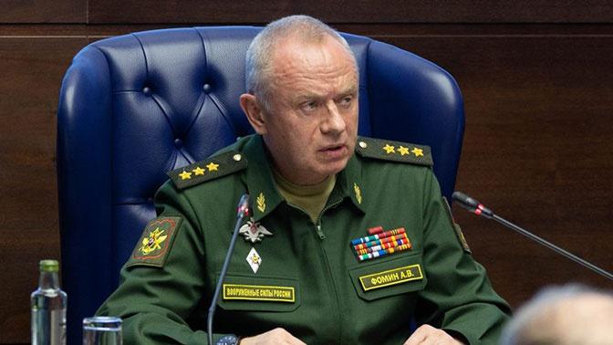 Замминистра обороны Фомин провел переговоры со своей коллегой из Франции