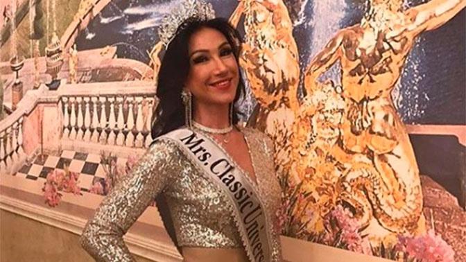 Россиянка победила в конкурсе «Миссис Вселенная - 2020»