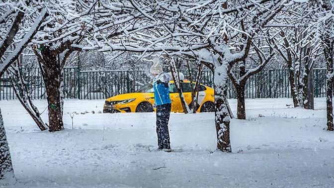 Жителей Подмосковья предупредили о снеге и гололедице