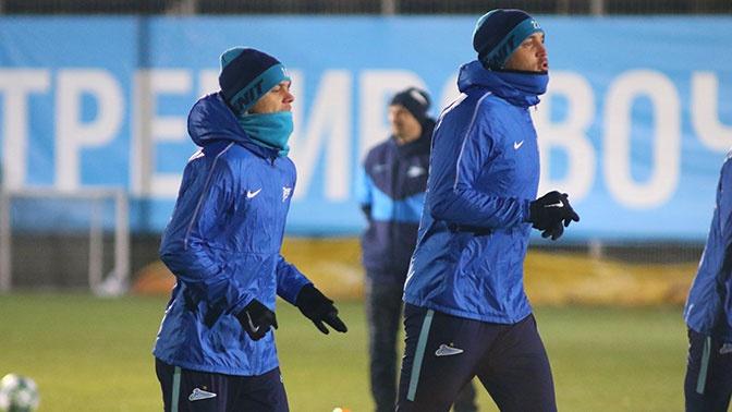 Арендованный клубом «Сочи» Кокорин продолжил тренировки с «Зенитом»