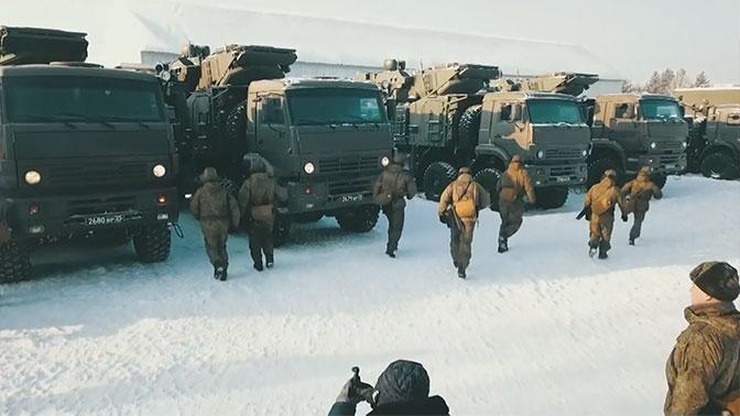 ЗРПК «Панцирь-С» отразили авиаудары условного противника под Хабаровском