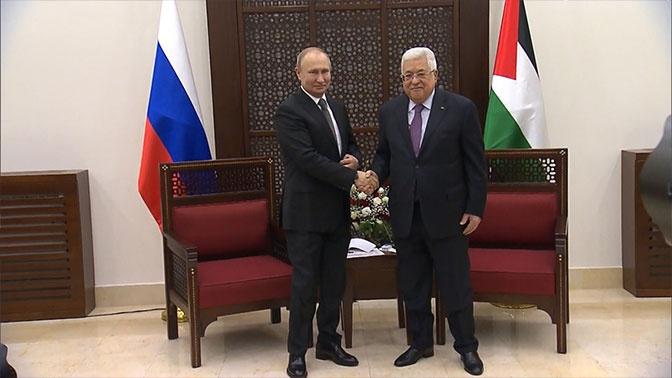 Путин завершил визит в Израиль и прибыл в Вифлеем