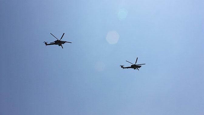 ВКС РФ и военная полиция провели патрулирования в Сирии