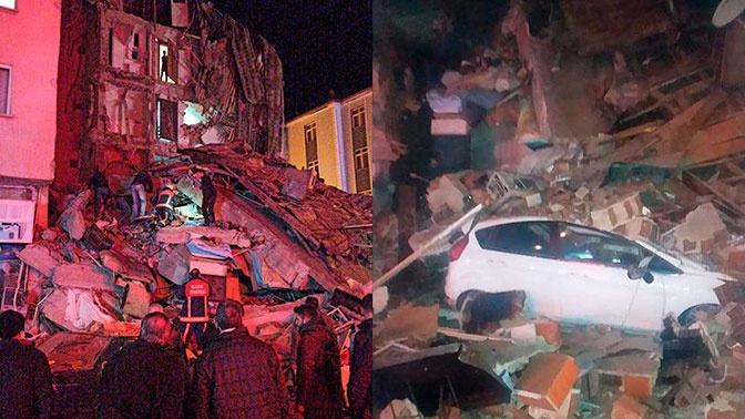 Мощное землетрясение в Турции: разрушенные дома, паника и жертвы