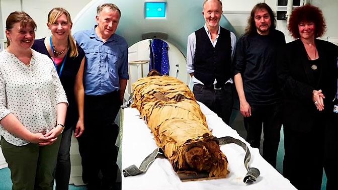 Древнеегипетской мумии вернули голос