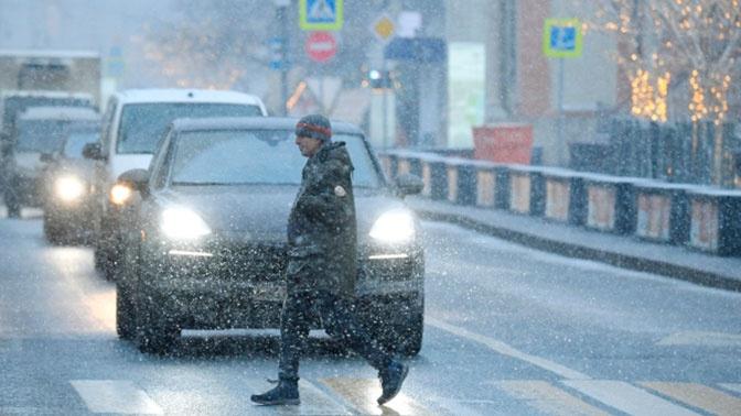 Столичных автомобилистов призвали пересесть на общественный транспорт из-за непогоды