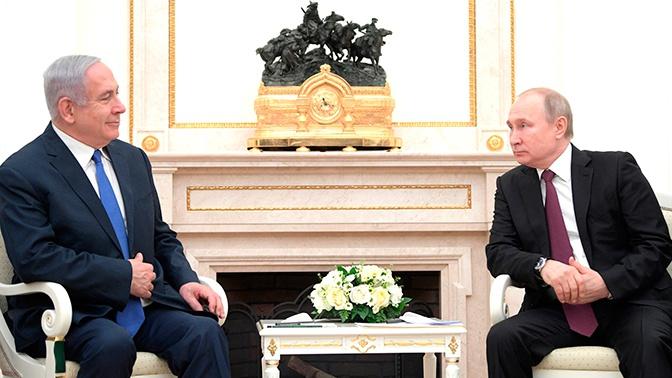 Путин встретится с Нетаньяху в Кремле