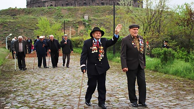 Юнармейцы и военные ВС РФ в Армении приняли участие в проекте «Дорога памяти»