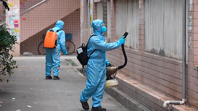 Число жертв коронавируса в Китае возросло до 722