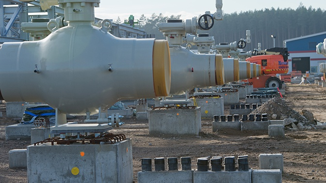 В «Газпроме» назвали расчетный срок запуска «Северного потока - 2»