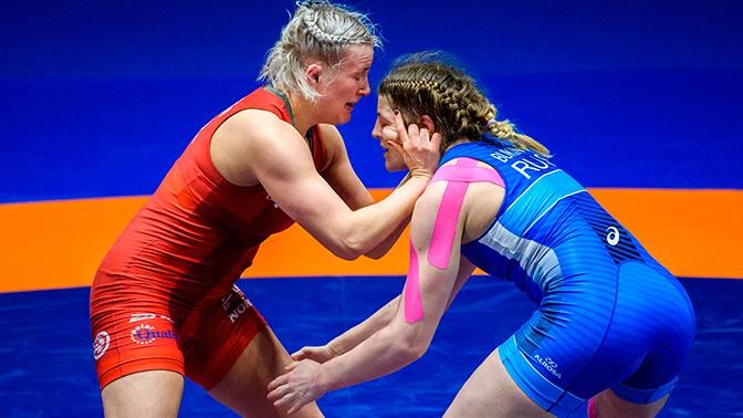 Девять медалей, четыре золота: россиянки лидируют на ЧЕ по борьбе в Риме
