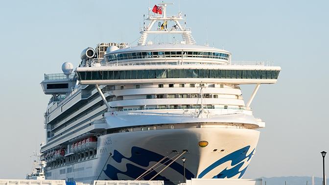 Число зараженных коронавирусом на круизном лайнере Diamond Princess достигло 355
