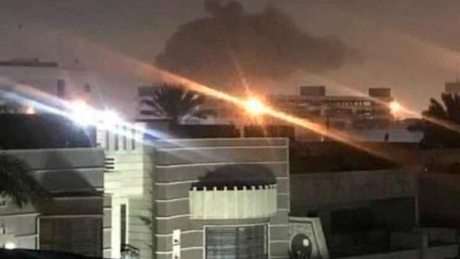 СМИ: ракеты упали рядом с американским посольством в Багдаде