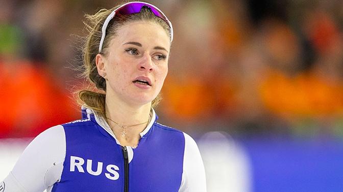 Новый мировой рекорд: конькобежка Воронина взяла золото на ЧМ в Солт-Лейк-Сити