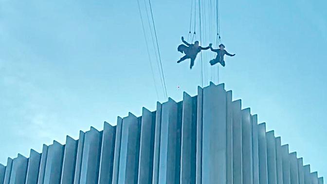 В Сеть «утекло» видео со съемочной площадки новой «Матрицы»