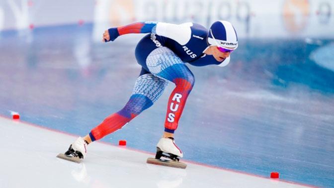 Путин поздравил российских конькобежцев с триумфом на чемпионате мира