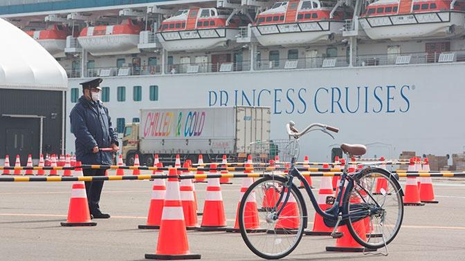Россиянка заразилась коронавирусом на карантинном лайнере в Японии