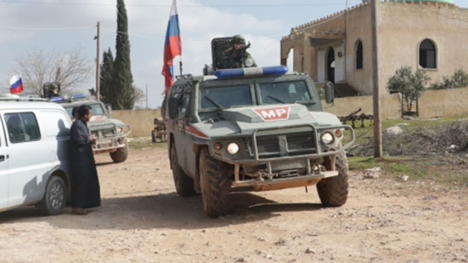 Россия и Турция провели совместное патрулирование в Сирии