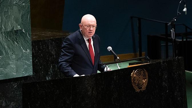 Небензя: Россия не прекратит поддерживать Сирию и их законную борьбу с террористами