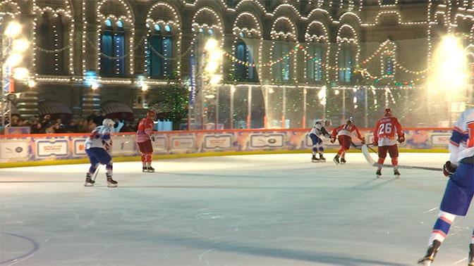 В Москве «Легенды хоккея» обыграли команду РСПП