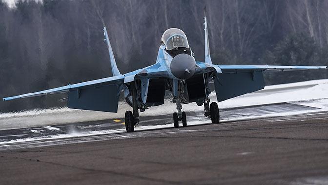 Российский истребитель МиГ-35 научили заходить на посадку в беспилотном режиме