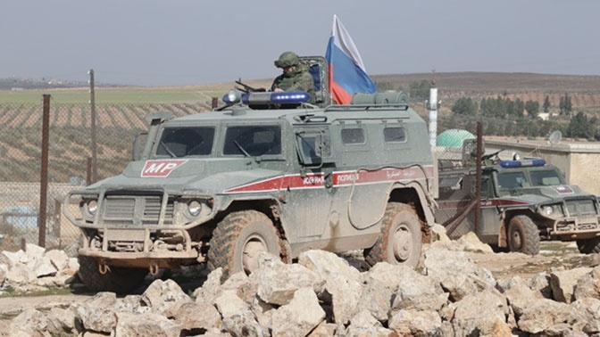 Российские военные провели патрулирование в Алеппо