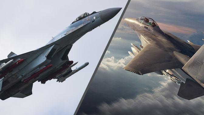 Современный и маневренный: американские СМИ отметили превосходство российского Су-35 над F-15EX