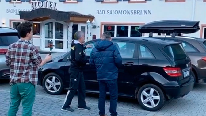 Опубликовано постановление суда Италии на обыск в номерах Логинова и Касперовича