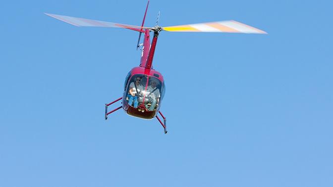 Под Астраханью потерпел крушение вертолет