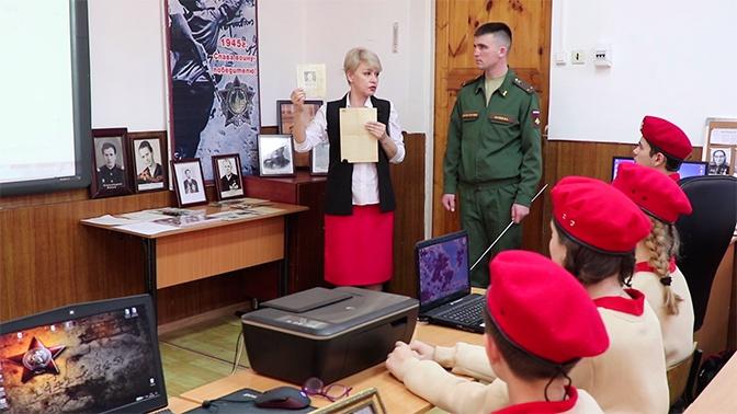 В Таджикистане юнармейцы оцифровали документы ветеранов Великой Отечественной войны