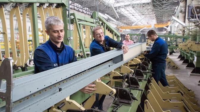 Em Voronezh, a fase ativa de montagem de unidades para o IL-114-300