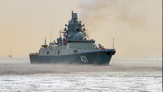 Фрегат «Адмирал Касатонов» вышел в Баренцево море на очередной этап госиспытаний