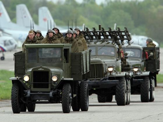 Парад Победы в Калининграде, 2012 год