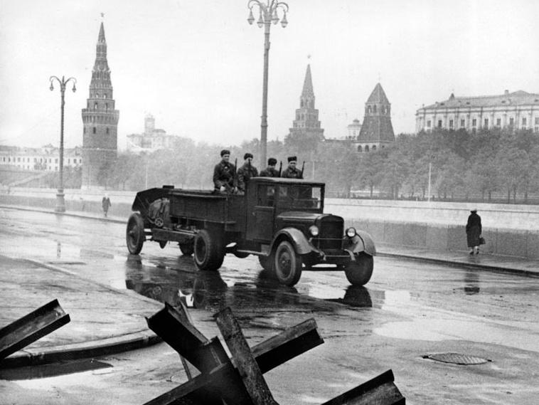 Москва, 1941 год