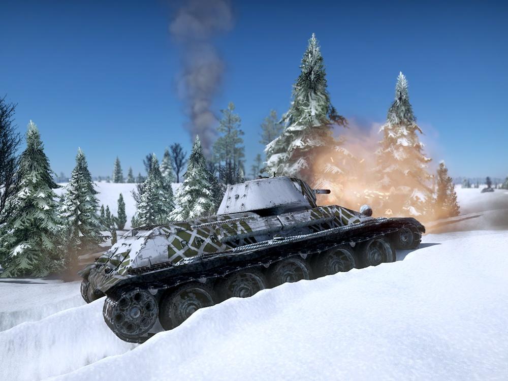 Т-34 образца 1941 года, 1-я Гвардейская танковая бригада