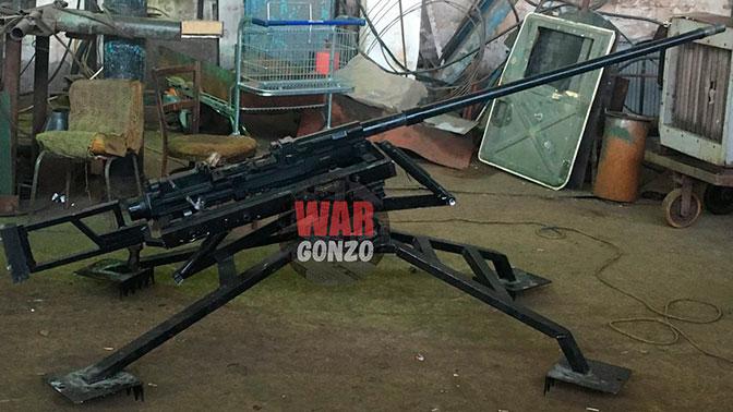 ВДонбассе испытали самую крупнокалиберную снайперскую винтовку вмире