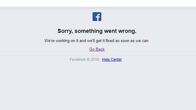 Кадыров невиноват всбоях вработе социальная сеть Facebook и Инстаграм