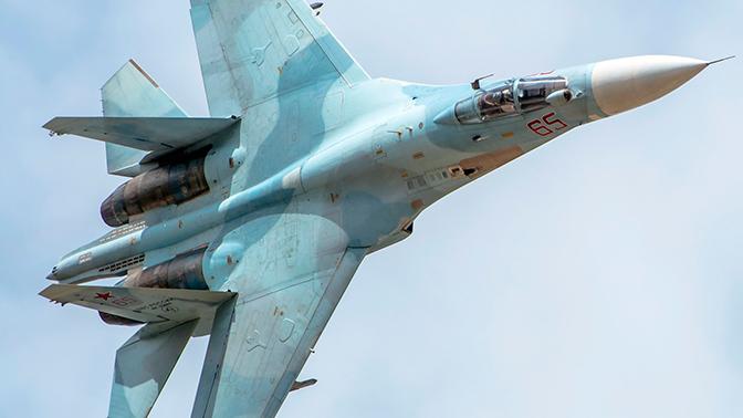 Многофункциональный истребитель Су-27
