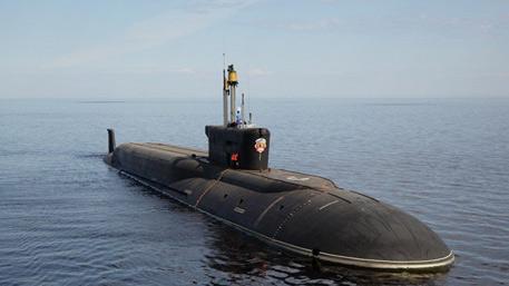 Атомная подлодка «Владимир Мономах»