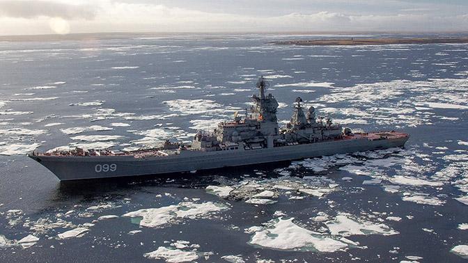Тяжелый ракетный крейсер «Петр Великий»