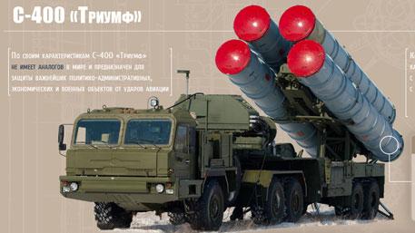 Зенитная ракетная система С-400 «Триумф» (Инфографика)